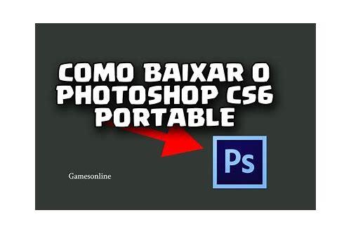 como baixar photoshop cs6 portable