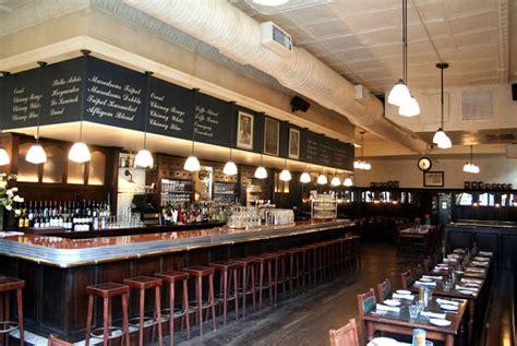 markt nyc bistro restaurant interior design with antique