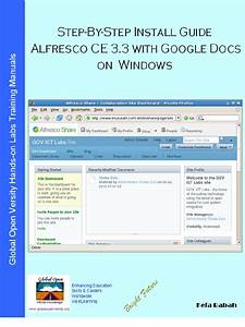 step by step install guide alfresco community 33g with With google docs windows installer