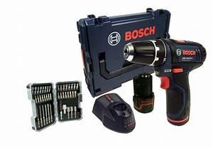 Bosch Akkuschrauber Set : bosch gsr 10 8 2 li akkuschrauber l boxx schrauberbit set 43 teilig werkzeuge akkuschrauber ~ Frokenaadalensverden.com Haus und Dekorationen