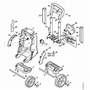 Stihl Re 129 Plus Pressure Washer  Re 129 Plus  Parts