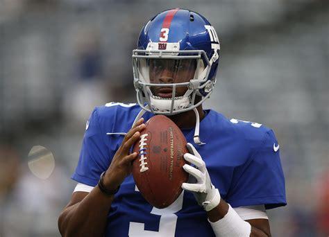 giants   years   eli manning benching  start  black quarterback
