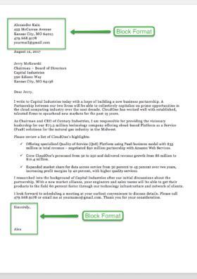sample business letter format   letter templates rg