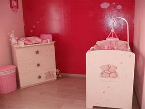 chambre enfant rose moderne pictures With chambre bebe fille rose