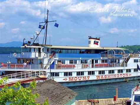 Mt Washington Boat by Weekending Lake Winnipesaukee Style