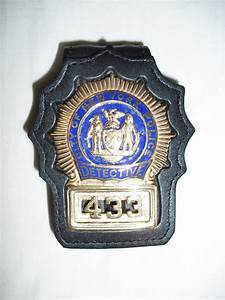 Images For > Nypd Police Detective Badge