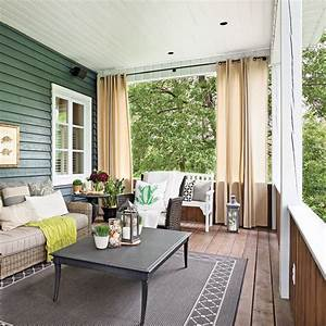 diy rideaux exterieurs en etapes decoration et With deco de terrasse exterieur 8 decoration idee rideau velux