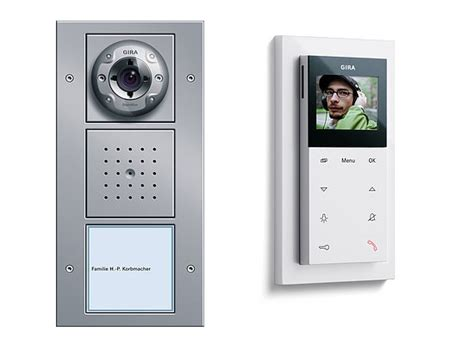 door entry systems intelligent home gira door entry system mod 1