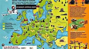 Carte Europe Media Nav Gratuit : europe carte avec symboles des pays arts et voyages ~ Medecine-chirurgie-esthetiques.com Avis de Voitures