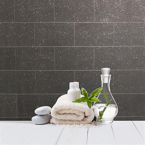 crown contour glitter brick wallpaper black decorating
