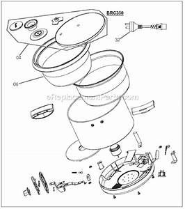 Breville Brc350xl Parts List And Diagram