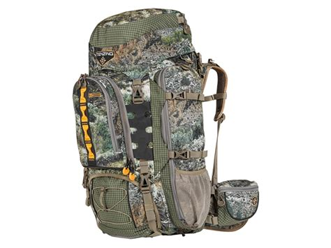 tenzing tz backcountry backpack polyester mossy oak