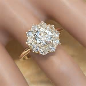 flower engagement ring 25 best ideas about flower rings on pretty rings gold rings and