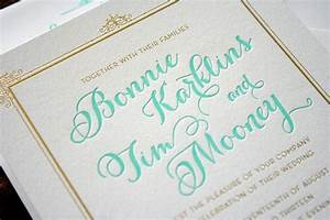 things are better with a parrott letterpress With wedding invitation printing green bay wi
