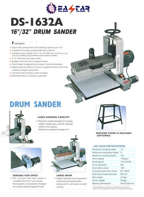 wood working machinerysanding machine  sponge drum sanderds