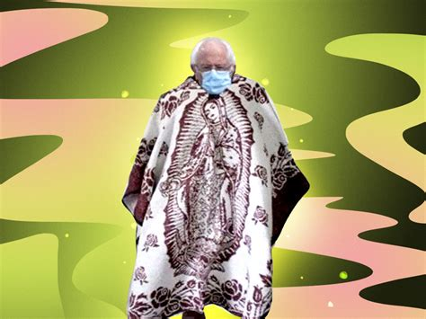 Tío Bernie Sanders Pulls Off 'Grumpy Chic' Look at Chilly ...