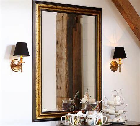 gold gilt  black mirror