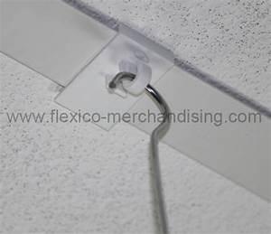 Crochet Plafond Adhésif : accroches plafond archives flexico ~ Premium-room.com Idées de Décoration