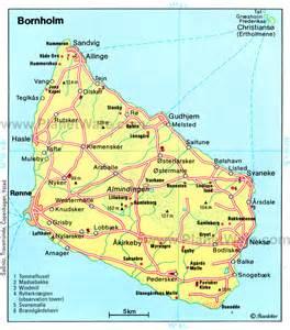 Bornholm Denmark Map