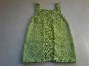 Tuto tricot robe de fete bebe youtube for Robe tricot bébé