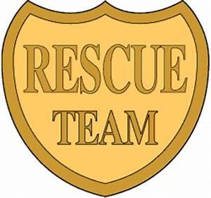 Emergency Rescue Badge Clip Art or Kids Badge