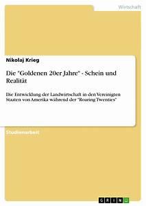Auswirkungen Einer Deflation : die goldenen 20er jahre schein und realit t ~ Lizthompson.info Haus und Dekorationen