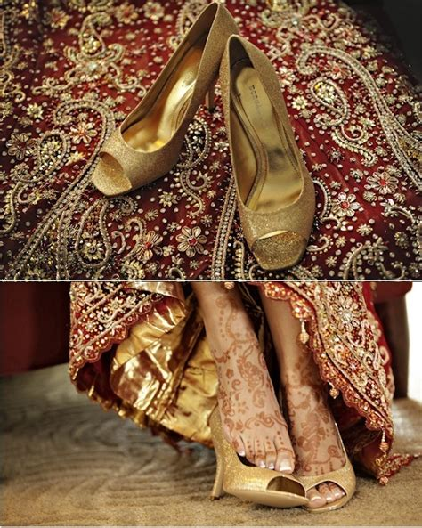 Tips To Help Indian Bride Buy Her Wedding Shoes