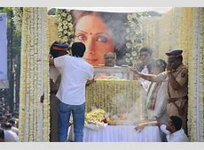 Sridevi's Funeral Gets State Honor as Lakhs Gather to Bid
