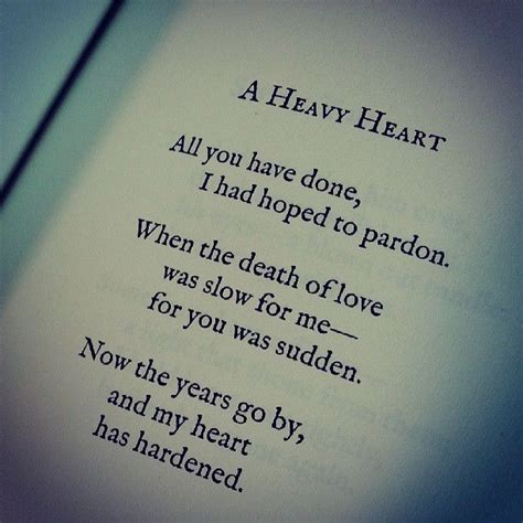heavy heart quotes death