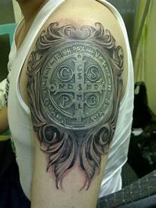 U1405 Tatuajes De San Benito  U26a1 Ufe0f  U00bb Tatuajes  U0026 Tattoos
