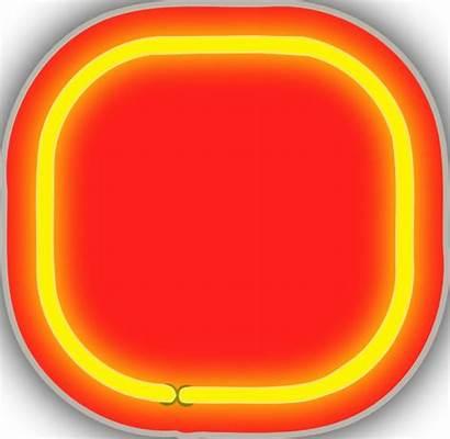 Clipart Neon Background Clip Blinking Dot Clker