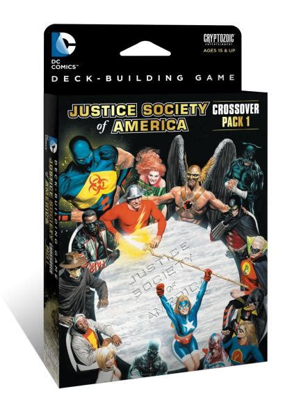 Dc Deck Building Expansion Release Date by Dc Comics Deck Building Crossover Pack 1 Jsa