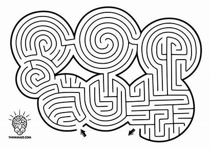 Maze Mazes Hard Games Circle Puzzles Labyrinth