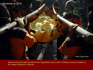 merapi eruption 2010 case study