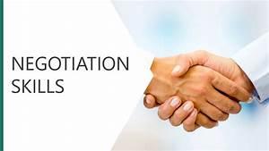 Negotiation Skills Module  U2013 Vetacademy