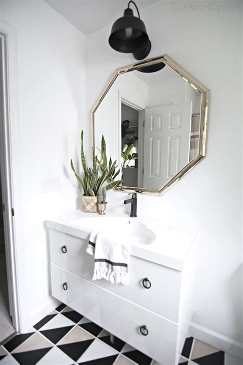 installing  delta touch faucet   ikea floating vanity
