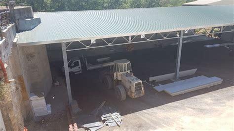 capannone metallico capannone metallico semi tonato