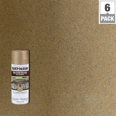 rust oleum stops rust 12 oz multicolor textured radiant brass protective spray paint 6