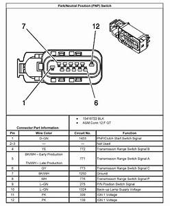 I Need To Find A Wiring Diagram For A Park Neutral Switch For A 2005 Chevy Express Cargo Van