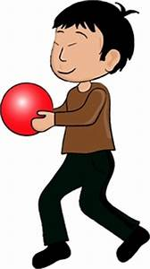 Boy Clipart Image - Young child, an asian boy, playing ...