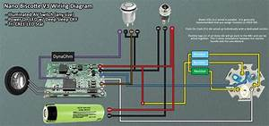 Nano Biscotte V3 Wiring Example