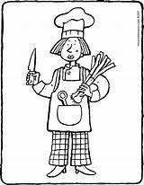 Cook Colouring Pages Job Coloring Kiddicolour Electrician Drawing Getcolorings sketch template
