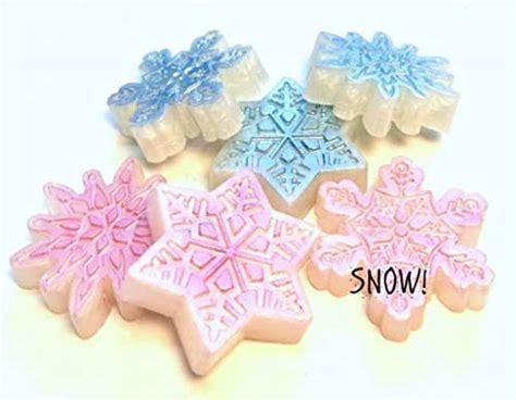 amazoncom snowflake soap christmas soap winter soap