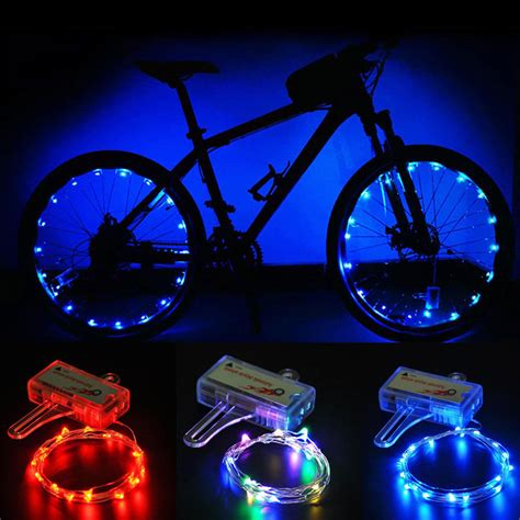 Wheel Lights by Led Bicycle Bike Cycling Lights Auto Open
