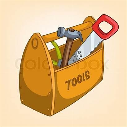 Cartoon Tool Box Miscellaneous Vector Clipart Clip