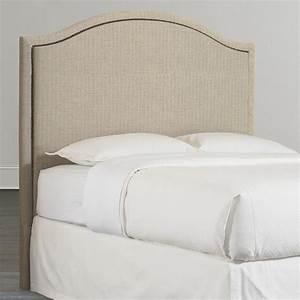 Arched Queen Headboard Custom Upholstery Bassett Furniture