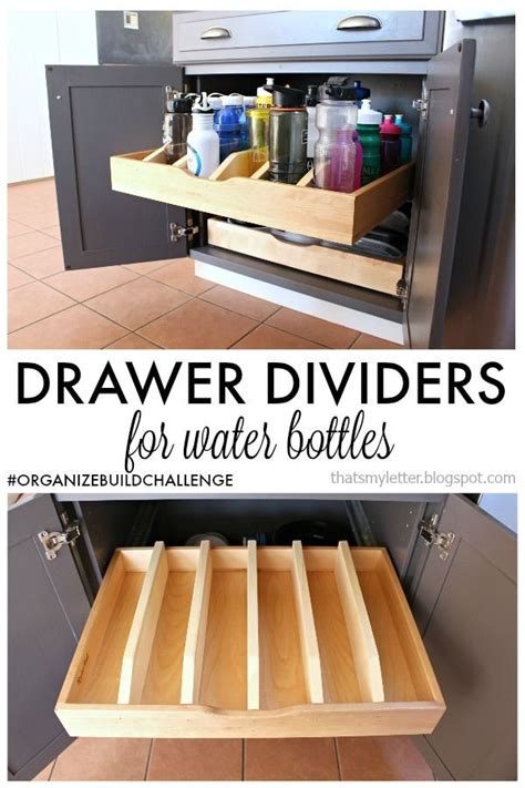 diy drawer dividers  pull  cabinet drawer