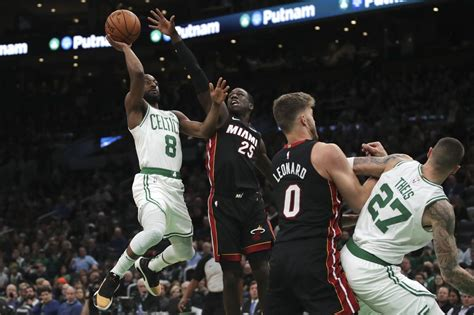 Boston Celtics vs Miami Heat in NBA playoffs Game 1: Score ...