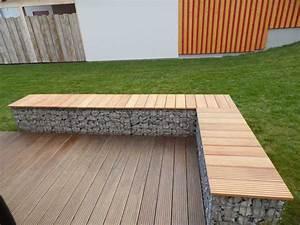 Was Kosten Gabionen Mit Füllung : gabionen terrassen bank garapa ~ Whattoseeinmadrid.com Haus und Dekorationen