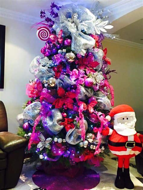 decoracion de arboles con cinta ideas para decorar el arbol de navidad 2018 y 2017 y fotos